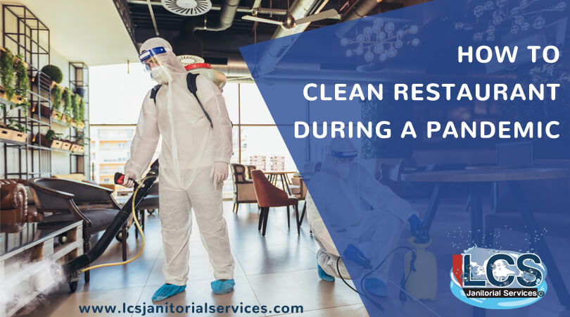 how to clean restaurant