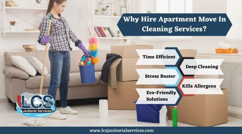 Why Hire Apartment Move In Cleaning Services?