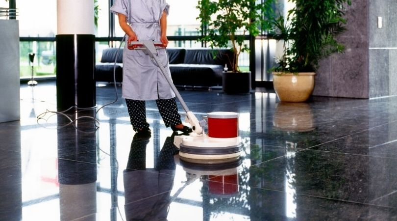 Floor Cleaning - Medical Office Cleaning Services