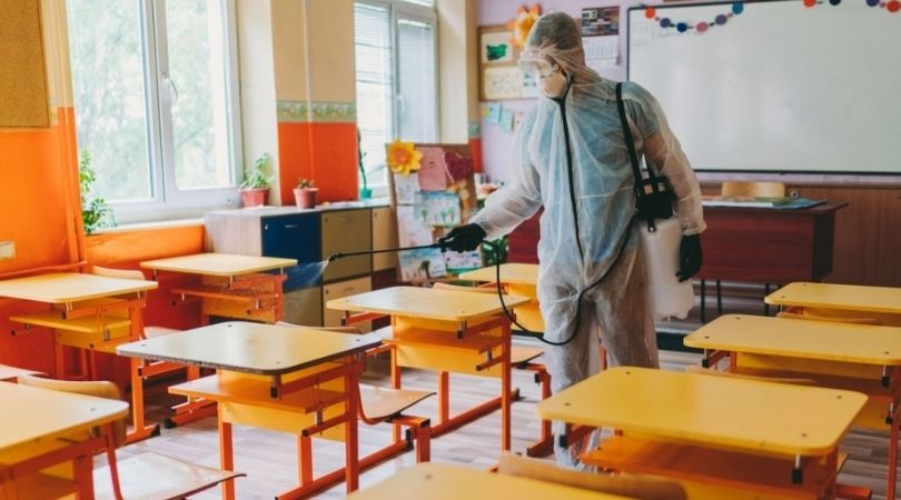 School Cleaning Services in Coronavirus